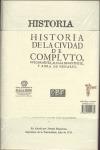 HISTORIA DE LA CIUDAD DE COMPLUTO, VULGARMENTE ALCALÁ DE SANTIUSTE Y AHORA DE HENARES