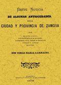 ANTIGUEDADES DE ZAMORA.