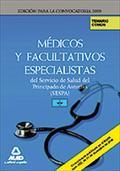 MÉDICOS Y FACULTATIVOS ESPECIALISTAS, SERVICIO DE SALUD DEL PRINCIPADO DE ASTURIAS (SESPA). TEM