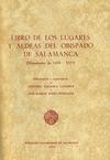 LIBRO DE LOS LUGARES Y ALDEAS DEL OBISPADO DE SALAMANCA C.1604-1629