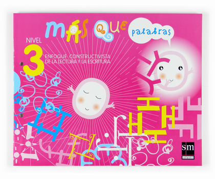 LECTO-MÁS QUE PALABRAS-NIVEL 3-07.