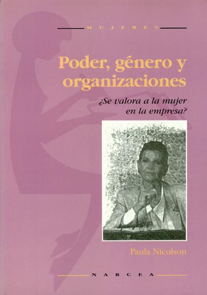 PODER GENERO Y ORGANIZACIONES