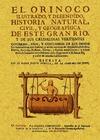 EL ORINOCO ILUSTRADO Y DEFENDIDO : HISTORIA NATURAL, CIVIL Y GEOGRAPHICA DE ESTE GRAN RIO Y DE