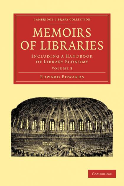 MEMOIRS OF LIBRARIES - VOLUME 3
