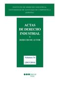 ACTAS DE DERECHO INDUSTRIAL 34 (2013-2014)