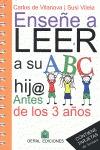 ENSEÑE A LEER A SU HIJ@ ANTES DE LOS 3 AÑOS