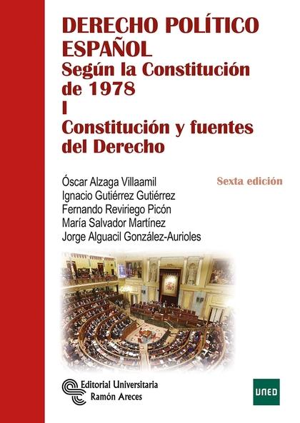 DERECHO POLÍTICO ESPAÑOL                                                        SEGÚN LA CONSTI