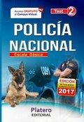 POLICÍA NACIONAL. ESCALA BÁSICA. TEST. VOLUMEN II.