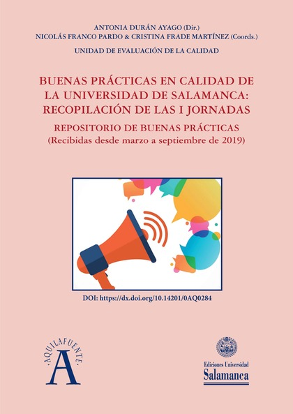 BUENAS PRÁCTICAS EN CALIDAD DE LA UNIVERSIDAD DE SALAMANCA                      RECOPILACIÓN DE