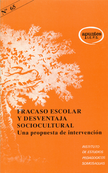 FRACASO ESCOLAR DESVENTAJA SOCIOCULTURAL 65