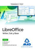 LIBREOFFICE: WRITER, CALC BASE. TEMARIO Y TEST.