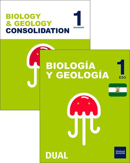 BIOLOGÍA Y GEOLOGÍA 1º ESO BILINGÜE PACK INICIA DUAL 2016