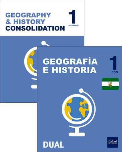 GEOGRAFÍA E HISTORIA 1º ESO PACK INICIA BILINGÜE 2016