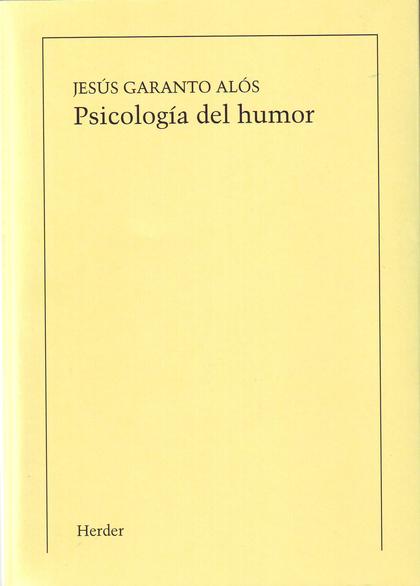 PSICOLOGÍA DEL HUMOR