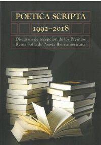 POÉTICA SCRIPTA 1992 - 2018