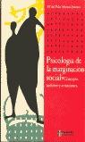 PSICOLOGÍA DE LA MARGINACIÓN SOCIAL: CONCEPTO, ÁMBITOS Y ACTUACIONES