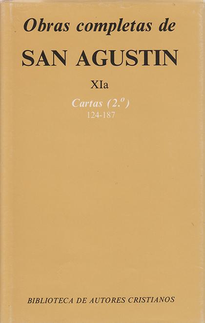 OBRAS COMPLETAS DE SAN AGUSTÍN. XIA: CARTAS (2.º): 124-187.