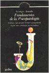 FUNDAMENTOS PSICOPATOLOGIA