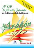 ATS DE ATENCIÓN PRIMARIA DE LA COMUNIDAD AUTÓNOMA DE ARAGÓN. TEMARIO DE MATERIAS