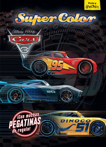CARS 3. SUPERCOLOR.