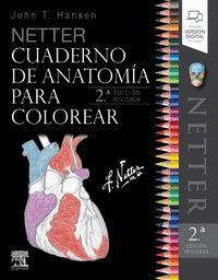NETTER CUADERNO DE ANATOMÍA PARA COLOREAR (2ª ED.).