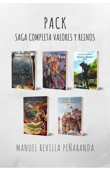 VALORES Y REINOS SAGA COMPLETA.