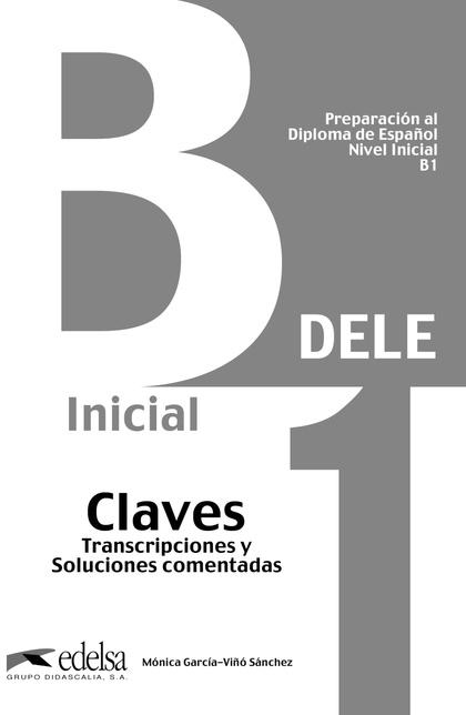 DELE B1. CLAVES