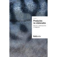 PRODUCTOS NO ELABORADOS. QUÉ SON, CLASIFICACIONES Y CATEGORÍAS