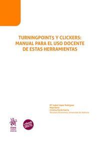 TURNINGPOINT5 Y CLICKERS: MANUAL PARA EL USO DOCENTE DE ESTAS HERRAMIENTAS.