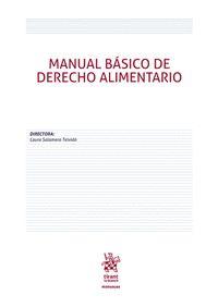MANUAL BÁSICO DE DERECHO ALIMENTARIO.
