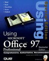USING MICROSOFT OFFICE 97 PROFESSIONAL SPECIAL EDITION
