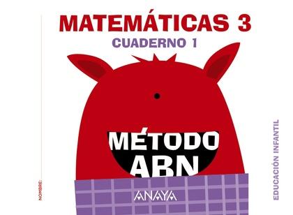 MATEMÁTICAS ABN. NIVEL 3. CUADERNO 1..