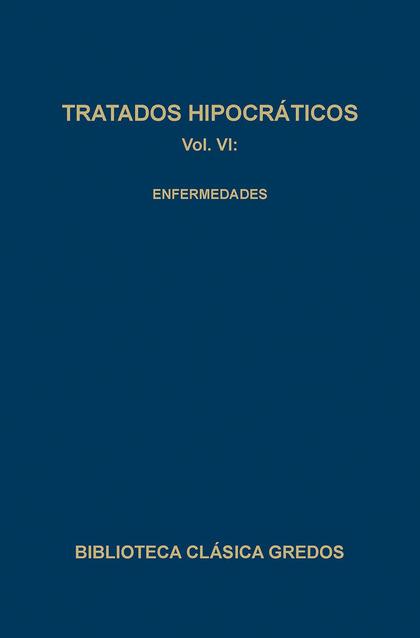 TRATADOS HIPOCRATICOS VI ENFERMEDADES (N.143)