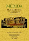 MÉRIDA MONUMENTAL Y ARTÍSTICA : BOSQUEJO PARA SU ESTUDIO
