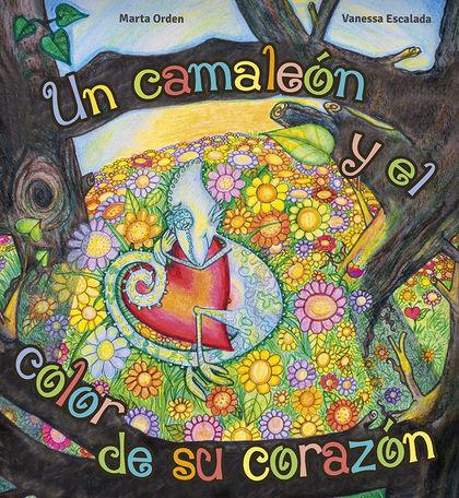 UN CAMALEON Y EL COLOR DE SU CORAZON