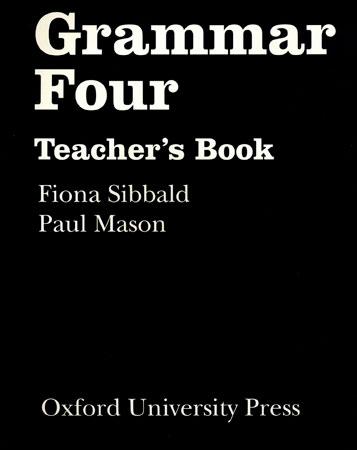 GRAMMAR FOUR TEACHERS BOOK