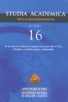 STUDIA ACADEMICA Nº15 - VIVIENDA,URBE Y CONVIVENCIA. ...HISPANIA ROMANA A LA ESPAÑA MEDIEVAL