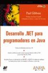 DESARROLLO.NET PARA PROGRAMADORES EN JAVA