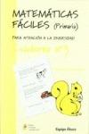 MATEMÁTICAS FÁCILES 3, EDUCACIÓN PRIMARIA
