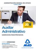 AUXILIAR ADMINISTRATIVO DE LA ADMINISTRACIÓN GENERAL DEL ESTADO. EJERCICIOS PSIC