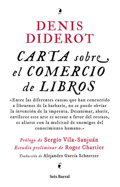 CARTA SOBRE EL COMERCIO DE LIBROS.