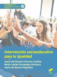 INTERVENCION SOCIOEDUCATIVA PARA LA IGUALDAD.