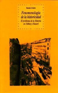 FENOMENOLOGIA DE LA HISTORICIDAD