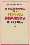 EL ESTADO INTEGRAL DE LA SEGUNDA REPÚBLICA ESPAÑOLA