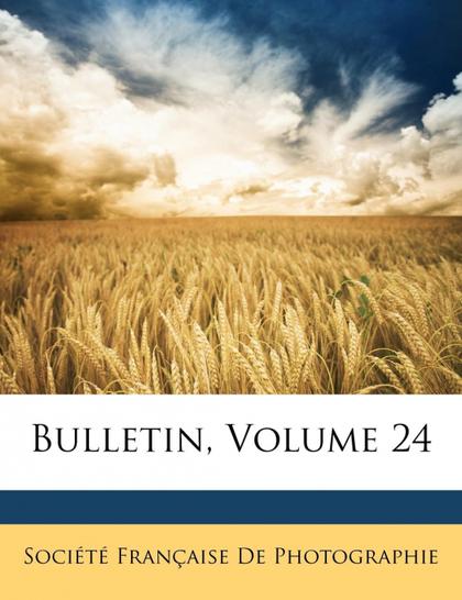 BULLETIN, VOLUME 24