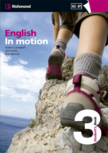 ENGLISH IN MOTION 3 ESTUDENT´S BOOK RICHMOND.