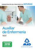 AUXILIAR DE ENFERMERÍA DE LA ADMINISTRACIÓN DEL PRINCIPADO DE ASTURIAS. TEST.