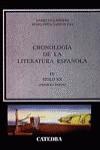 Cronología de la literatura española, IV
