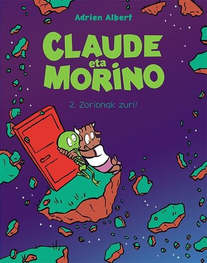 CLAUDE ETA MORINO 2. ZORIONAK ZURI!.