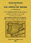 DERROTERO DE LAS COSTAS DE ESPAÑA EN EL MEDITERRÁNEO Y SU CORRESPONDIENTE DE ÁFRICA